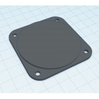 57mm hole filler plate
