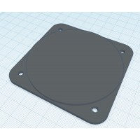 80mm hole filler plate