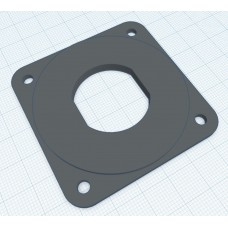57mm mounting plate for USB power socket