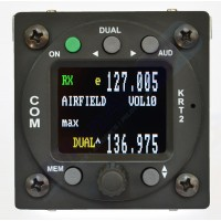 Dittel KRT2 VHF-radio 8.33kHz/25kHz 6W (2nd generation, color display)