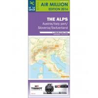 VFR Chart 2016 Alps / Austria / Italy N / Switzerland / Slovenia