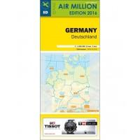 VFR Chart 2016 Germany / Netherlands
