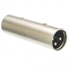 XLR 3-pin coupler / gender changer F-M