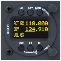 Funkwerk ATR833-OLED VHF-radio 8.33kHz/25kHz 6W
