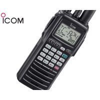 ICOM IC-A24E Handheld VHF-Transceiver 8.33kHz/25kHz 1.5W with VOR