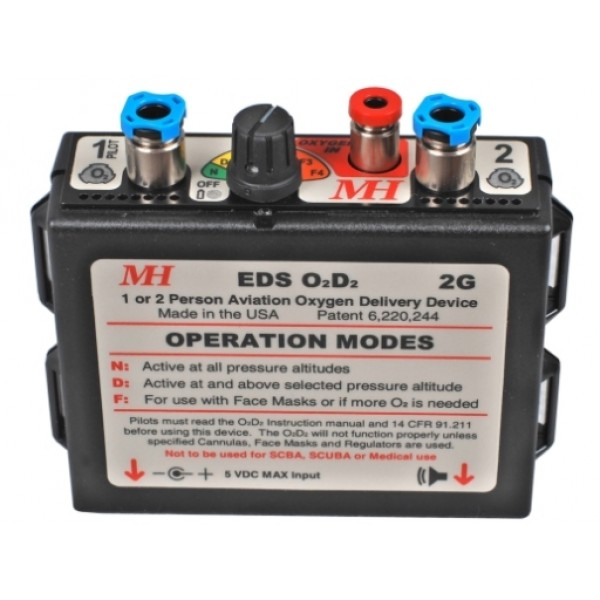 Mountain High EDS O2D2-2G new generation Pulse Demand Oxygen System