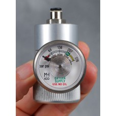 XCR-G regulator with pressure gauge (DIN477 type)