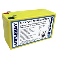 AIRNERGY 14.4V 20.5Ah NMC Battery