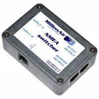 NMEA data switcher (dual in, dual out)