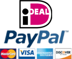We accept iDEAL and PayPal!