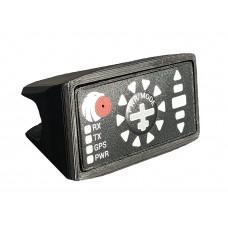Flarm V2 display mounting for SH panel edge