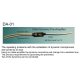 Dittel DA-01 Cable-Amplifier for dynamic microphone